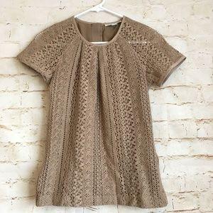 Banana Republic Lace Crochet Blouse